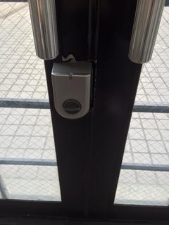 内側電子錠鍵部分